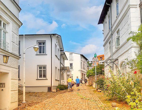 Gasse in der Altstadt Sassnitz